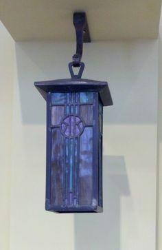 Karl Kipp - Roycroft - Lantern - Arts & Crafts - Bungalow