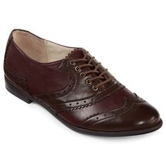 Studio Paolo® Winter Lace-Up Oxford Shoes - jcpenney $35 ((size 10 - sold out right now))
