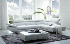 J&M white leather sofa, amazon.com