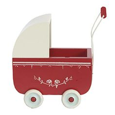 LittleChoux.com - Red Toy Pram