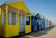 Seaside hideout: England's Southwold Beach Huts, Seaside, Traveling By Yourself, England, World, Places, Outdoor Decor, Blog, Home Decor