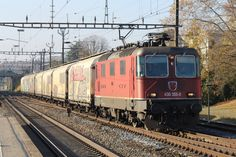 Swiss Railways, Electric Locomotive, Trains, Europe, Vehicles, Rolling Stock, Vehicle, Train, Tools