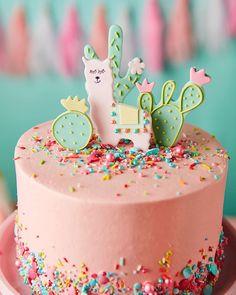 This llama birthday cake is so perfect! This llama birthday cake is so perfect! 10 Birthday Cake, Llama Birthday, Birthday Parties, 10th Birthday, Birthday Ideas, Girl Birthday Cakes Easy, Twin Birthday Themes, Colorful Birthday Cake, Beautiful Birthday Cakes
