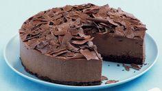 Milk chocolate mousse cake