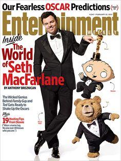 This week's cover: Seth MacFarlane's Oscar balancing act