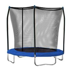 Skywalker Trampolines 8 Ft. Round Trampoline and Enclosure with Blue Spring Pad by Skywalker Trampolines. $149.00