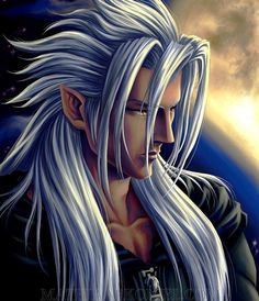 Top japan man a pinterest collection by roberta vestri saint xemnas the superior newer version of this painting available here despite the fact that its not clearly observable xemnas indeed has pointy ears fandeluxe Choice Image