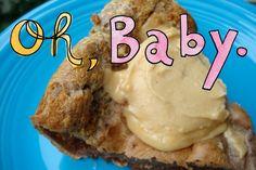 Dark Chocolate Peanut Butter Dutch Baby #tasteamazing