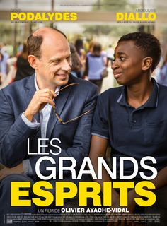 Les Grands Esprits (France, A French teacher at the most elite high school in France is obliged to be transferred to teach in a suburban ghetto school and probably learns more than his students. Cinema Movies, Cult Movies, Hd Movies, Movies Online, Movies And Tv Shows, Film 2017, Film Vf, Film Movie, Streaming Vf