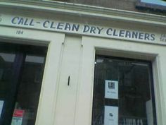 Call-Clean, our local friendly Dry Cleaners