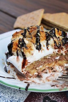 S'mores Lasagna for One