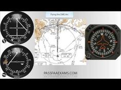 How to Fly a DME Arc - YouTube