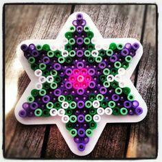 Star perler bead design by leonivanhoutum