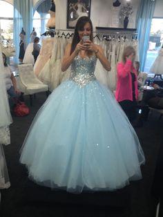 Prom dress !!! Complete Disney princess ! Love my dress :)