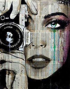 "Saatchi Art Artist Loui Jover; Drawing, ""zoom"" #art"