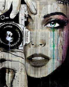 "Saatchi Art Artist Loui Jover; Drawing, ""zoom"" #art"