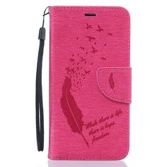 Samsung Galaxy J5(2016) Flip Wallet Leather Case Cover with Credit Card Slots for Boys and Girls, Stand Function for Samsung Galaxy J5(2016) (5.2 inch)(Rose Feather): Amazon.ca: Cell Phones & Accessories