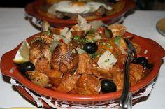Porco com Amêijoas à Alentejana   Pork with Clams - Portuguese Food - Portuguese Food Recipes