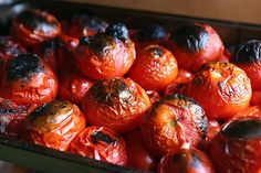 Roasted canned tomatoes