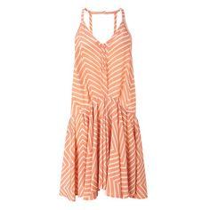Silk Halter Dress Orange now featured on Fab.