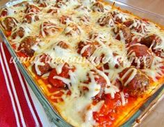 Meatball Sub Casserole | The Country Cook