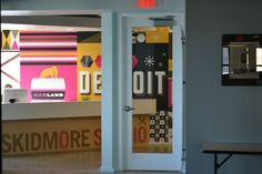 Photo shoot for Detroit design blog campaign