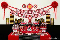 Firetruck Party #firetruck #party