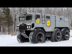"""Russia-Made All Terrain Amphibious Vehicle """"Burlak"""" Is Ready To Explore the Toughest Terrains on the Earth!"""
