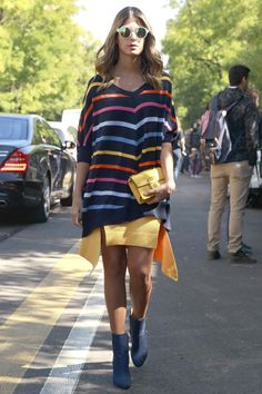 The Best Street Style Looks From Milan Fashion Week Spring Summer 2016 | Trends | Grazia Daily