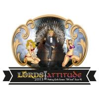 Ny russelogo Lords With Attitude Attitude, Logo Design, Lord, Movies, Movie Posters, Film Poster, Films, Popcorn Posters, Lorde