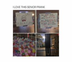 April Fools And Techniques For funny april fools pranks for school jokes Senior Year Pranks, Funny Senior Pranks, Funny April Fools Pranks, School Pranks, School Memes, Best Pranks Ever, Good Pranks, Awesome Pranks, Senior Quotes