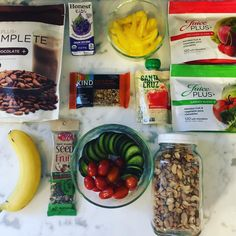 These are a few of my favorite things when #traveling going to #practice or #games I always have #snacks on hand. This was what we took on our last #familytrip and the kids love it. They always ask for #fruitsandveggies first  What are some of your favorite snacks to pack? #dietitianmom #rd #dietitianlife #healthykids #parenting #sports #roadtrips #moms #healthysnacks #carsnacks #addcolor #smoothies #eatmoreplants