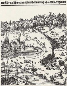 Die Belagerung von Wolfenbüttel, Block 3 Künstler:Cranach d. J., Lucas Entstehungsjahr:1542