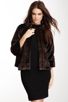 Marilyn Topper faux fur jacket