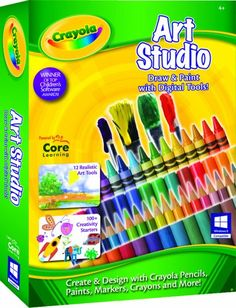 Young Artist Travel Paint Set by Faber Castell.  Learn art and computer skills while having fun with crayon, paint , pencil and much more!  Ages: 4 -10  Only $14.99 on Amazon