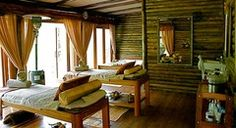 Duma Manzi Eco Lodge and Spa . Wellness and Wildlife retreat in South Africa : Detail : Healing Map