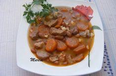 Babgulyás   Receptkirály.hu Hungarian Recipes, Hungarian Food, Chana Masala, Beans, Pork, Vegetables, Ethnic Recipes, Kale Stir Fry, Hungarian Cuisine