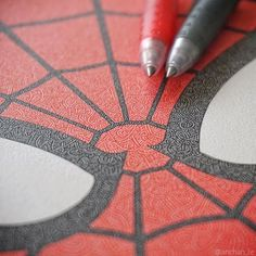 Everything comes to those who wait... and with great power comes great responsibility!! Yes it does!!! I loooove that black and red combination  So here is a little progress on that Spiderman commission Follow me for more @anchan_te   - -- --- ---- ----- ------ ------- -------- #spiderman #homecoming #marvel #marvelcomics #moleskine #illustration #spider #artistichappiness #lovisticart #copic #copicart #pilot #japan #tokyo #cre8hype #art_conquest #artdiscovered #art_collective…