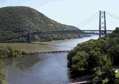 Bear Mountain Bridge (US 6 and US 202). Located in New York State. Built in 1927.