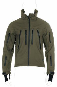 UF PRO® Delta Eagle Olive Softshell Jacke