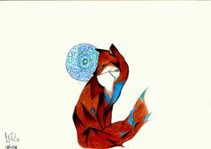 #fox #drawing #copy #tattoo