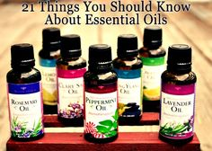 21 Important Things You Should Know About Essential Oils (Really Excellent article by Crunchy Betty)