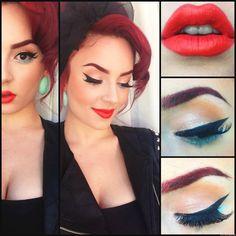 Make up tutoríal easy and fun! Pretty!  Follow me @silvana1497