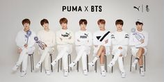 "제품 상세 배너  BTS have collaborated with Puma for their own line of Puma shoes called                               ""Puma X BTS Court Star"".   July 2017"