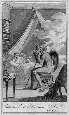 Collin de Plancy, conversation with the devil, 1819