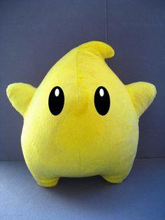 Want it!   Super Mario Bros Power Star Luma Plush Doll 12 inches $12.90
