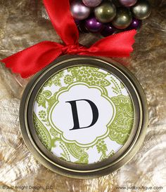 Personalized Ornaments - Looks easy