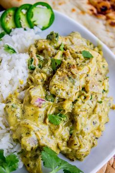 Slow Cooker Basil Chicken in Coconut Curry Sauce - The Food Charlatan