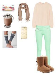 Cozy N' Cute by balletlover11 on Polyvore featuring polyvore, Autumn Cashmere, French Connection, Daytrip, UGG Australia, Kate Spade, Michael Kors, fashion, style and clothing