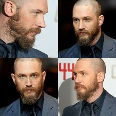 #TomHardy looking great in that suit today for the #Child44 premiere in #London emoji #beardarmy